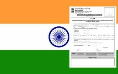 Renunciation of Indian Passport and Applying for OCI Card